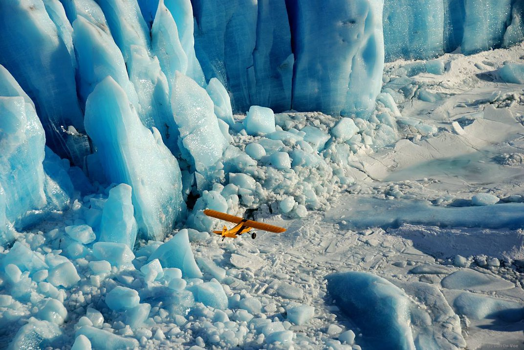 This Biologist Defies Gravity (and Glass Ceilings) to Document the Effects of Climate Change