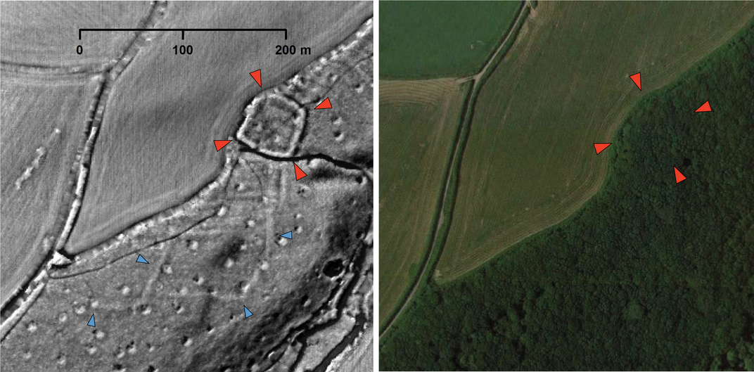 Amateur Archaeologists Studying Aerial Maps of the U.K. Spot Dozens of Hidden Historical Structures