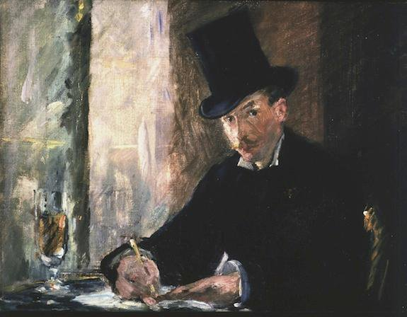 Manet, Chez Tortoni, among one of the items stolen
