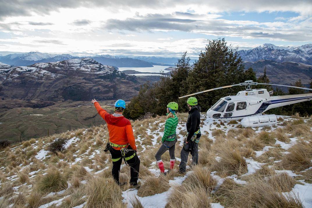 Climb a 2,500-Rung Ladder Up New Zealand's Towering Twin Falls