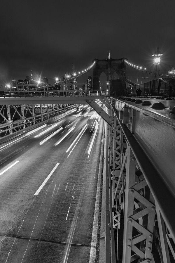 Flashing and Speeding Lights: Brooklyn at Night thumbnail