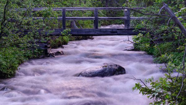 Bridge over the north river thumbnail
