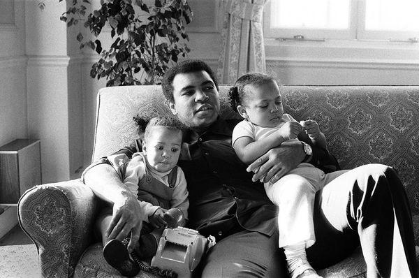 <i>Muhammad Ali and Family</i>, 1978. Ron Harvey. Mirrorpix/Courtesy of Everett Collection/Ron Harvey.