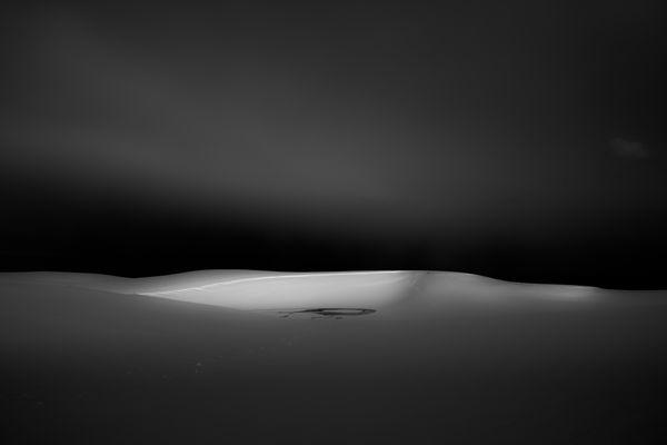 Dawn of snow dunes thumbnail
