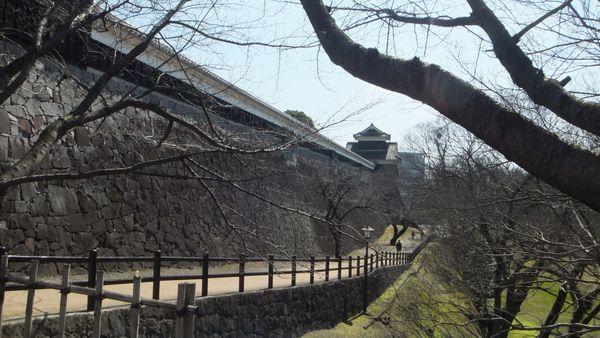 Walking off the path of Kumamoto Castle thumbnail