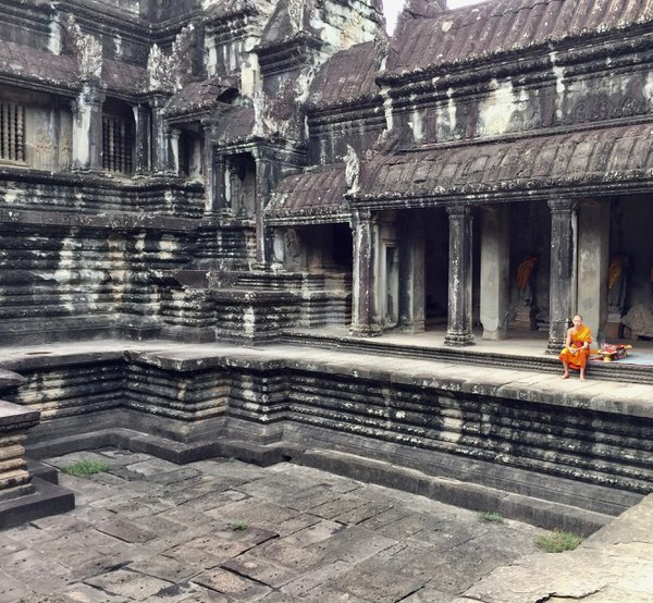 Upper temple of Angkor Wat  thumbnail
