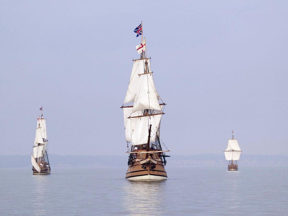 English ships