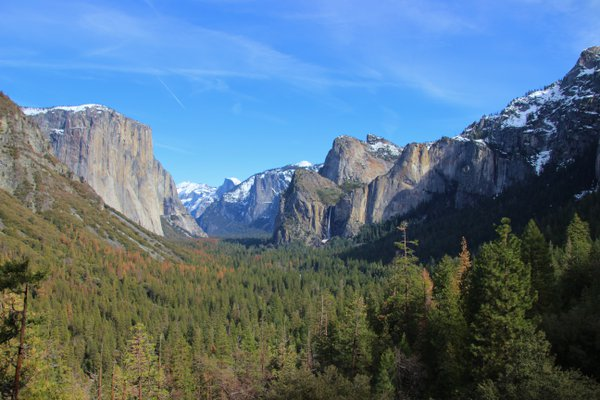 A View from the Tunnel of Yosemite Valley. thumbnail