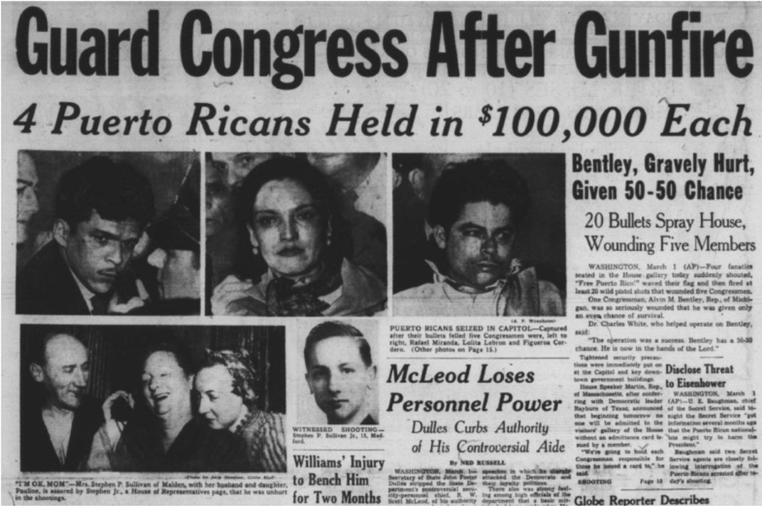 The History of Violent Attacks on the U.S. Capitol