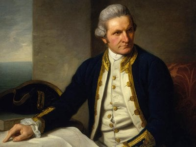 Captain James Cook set out on a voyage across the Pacific 250 years ago, seemingly on a scientific voyage. But he carried secret instructions from the Navy with him as well.