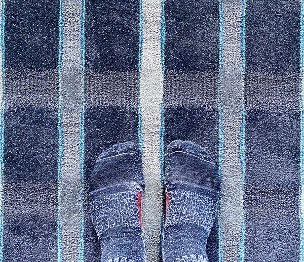Socks match the motel carpet thumbnail