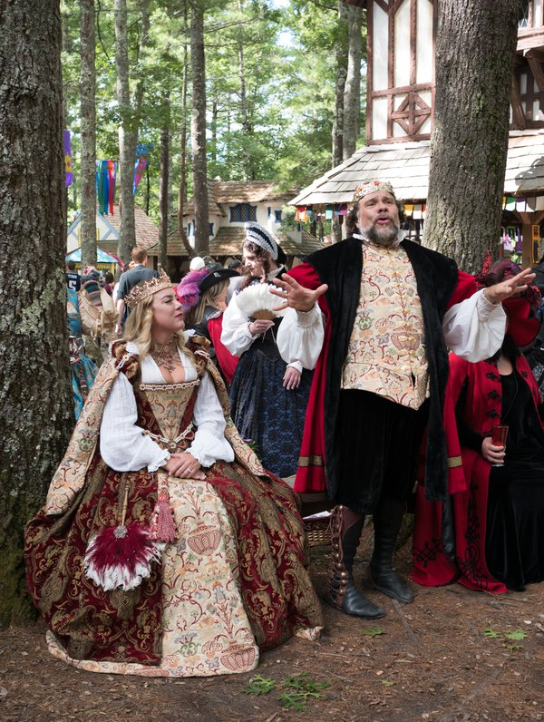 King Richard and Queen at the Faire thumbnail