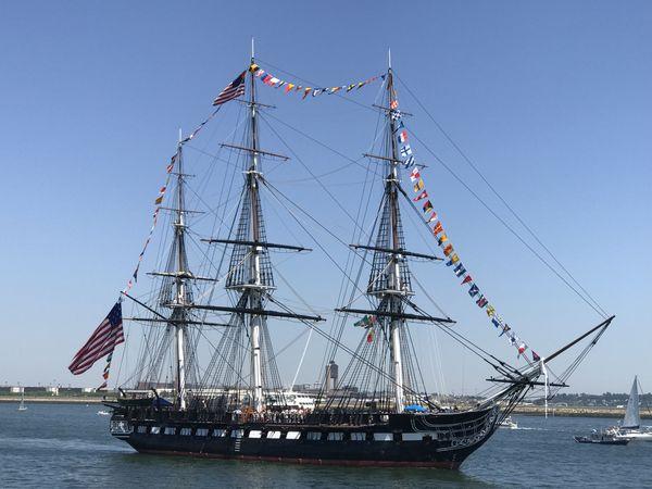 USS Constitution Boston Harbor Turnaround Cruise July 4th 2018 thumbnail