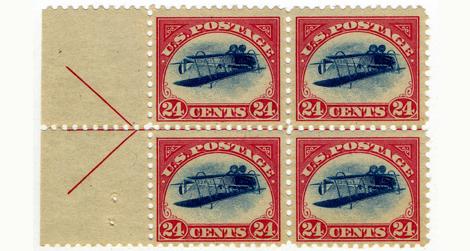 24c Curtiss Jenny