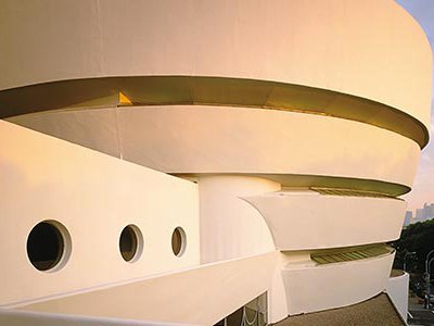 """The Guggenheim was Wright's crowning achievement.  """"The strange thing about the ramp—I always feel I am in a space-time continuum, because I see where I've been and where I'm going,"""" says the director of the Frank Lloyd Wright Archives."""