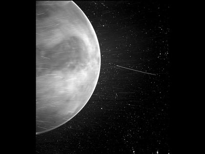 NASA's latest image of Venus taken by the Parker Solar Probe. Using Venus's gravity, the Parker Probe will circle our host star seven times while getting closer and closer over the course of seven years.