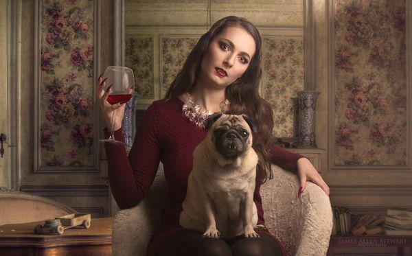 A Vampire and her Vampire Pug thumbnail