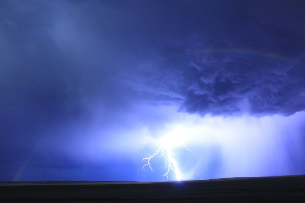 Moon Bow and a Bolt of Lightning  thumbnail