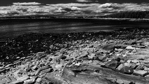 New England Shoreline as a Storm Passes thumbnail