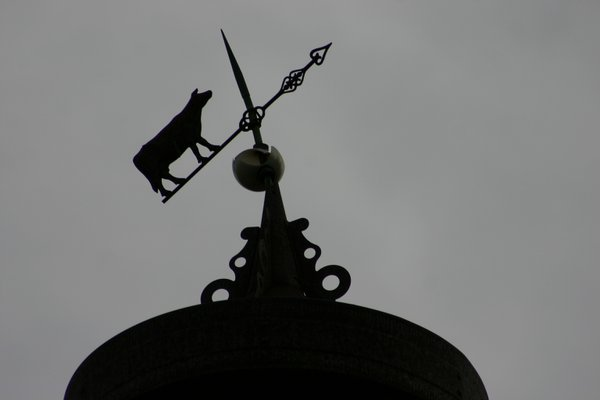 A weathervane atop an old barn in Berks County, PA thumbnail