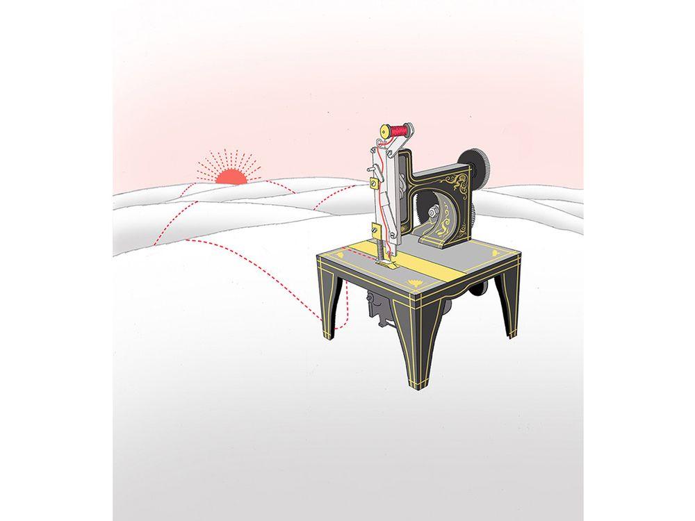 singer sewing machine, Martha Stewart