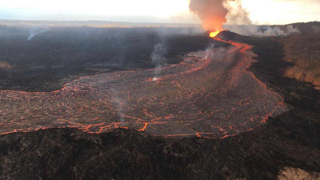 Could Rainfall Have Triggered the 2018 Eruption of Hawaiian Volcano Kīlauea?