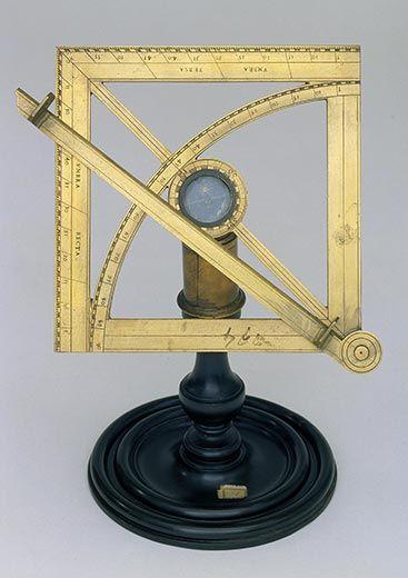 Galileo geometrical square