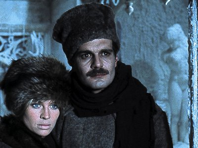 """A shot from the famed 1965 film version of Boris Pasternak's """"Doctor Zhivago"""""""