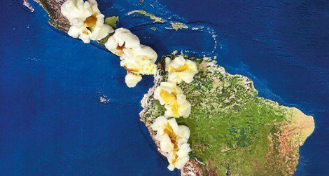 A recent study indicates that ancient peoples in Peru were eating popcorn.