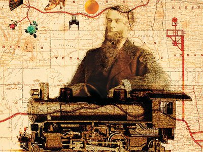 Visionary executive William Barstow Strong led the second transcontinental line, the Santa Fe, in the 1880s, paving the way for thousands of miles of track.