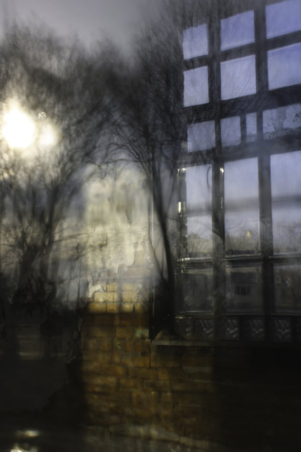 View Inside Abandoned Kirkbride Asylum Window thumbnail
