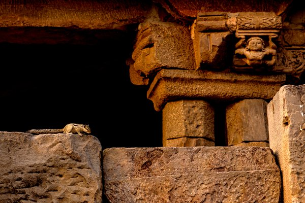 Elfin in ancient temple thumbnail