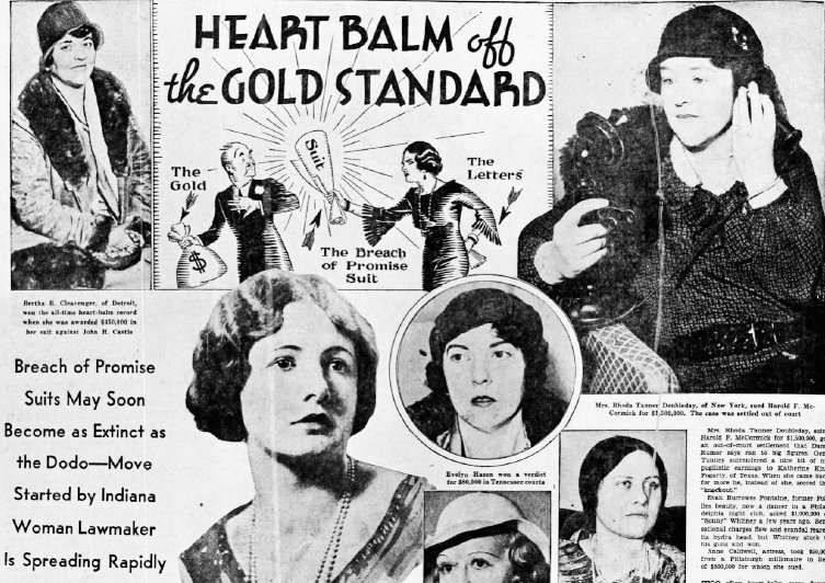 """How the """"Heart Balm Racket"""" Convinced America That Women Were Up to No Good"""