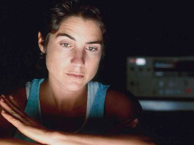 Photograph of Ilene Segalove (detail), circa 1984 / unidentified photographer. Ilene Segalove papers, 1964-2017. Archives of American Art, Smithsonian Institution.