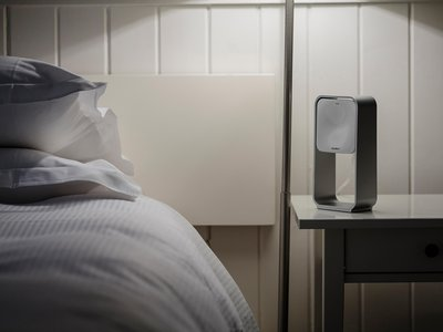 The bedside S+ frees sleep trackers from uncomfortable watches and chest monitors.