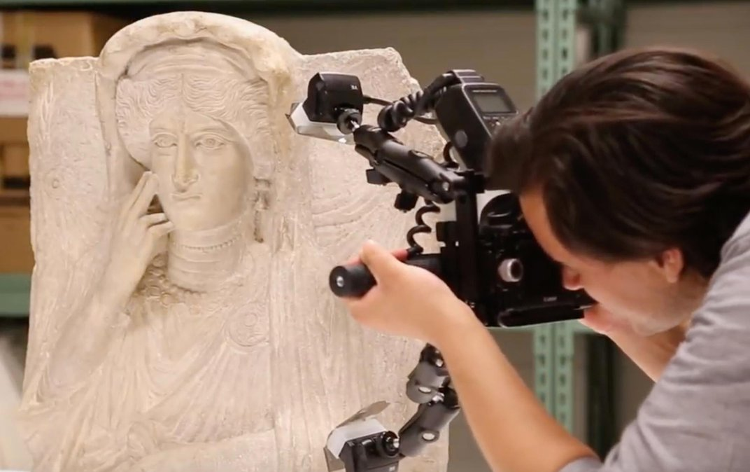 Two Sculptures of Ancient Women Give Voice to the Protection of Antiquities in War Zones