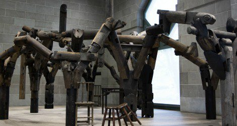 """Ai WeiWei's """"Fragments"""" is now on display at the Sackler Gallery."""