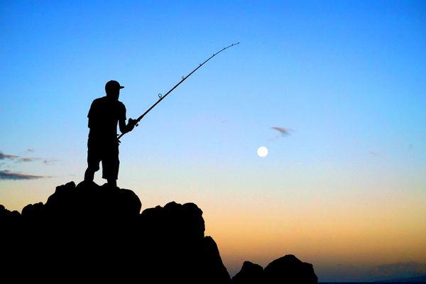 Fishing for a Super Moon thumbnail