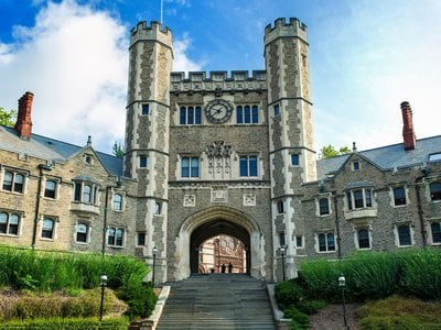 Blair Hall, a dormitory at Princeton University that was built in 1897 and continues to house students today