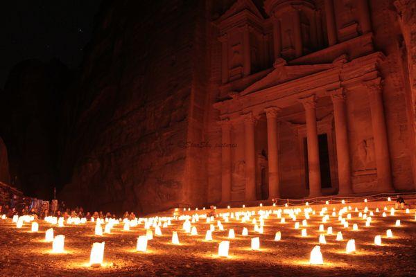 The Treasury at night thumbnail