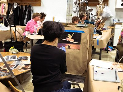 Smithsonian Studio Arts Oil Painting Class (Smithsonian Associates)