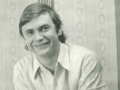 Albrecht Dittrich as a student, just a few years before he came to the U.S. under the name Jack Barsky as a KGB spy.
