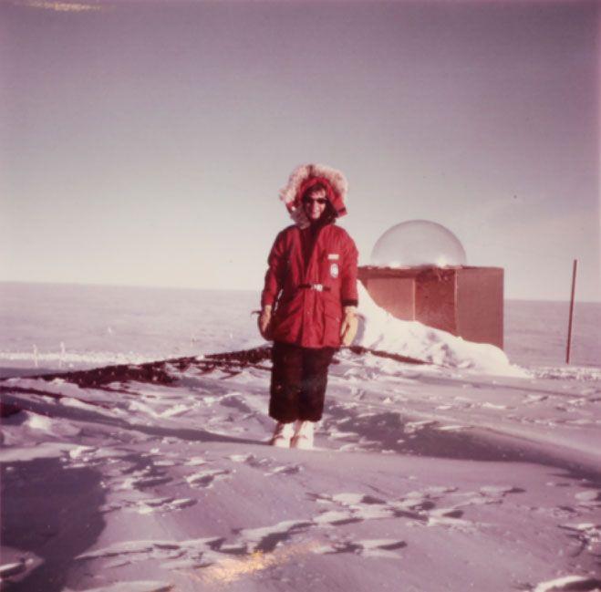 Peden in Antarctica