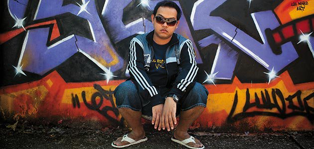 Rapper J Me graffiti art show