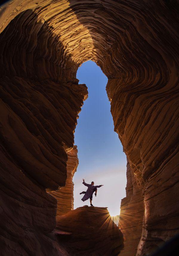 Zen meditation in the cave thumbnail