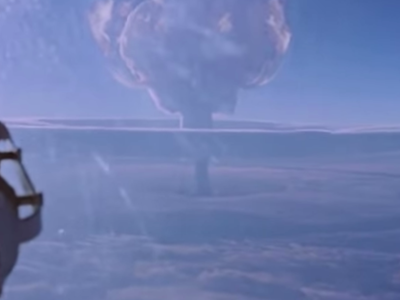 The mushroom cloud from Tsar Bomba was 42 miles high, about seven times the height of Mount Everest