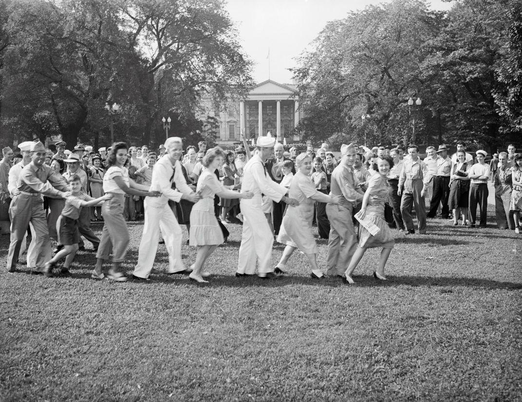 Conga Line at White House
