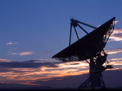 """Scientists seeking extraterrestrial life in the universe (above: a radio observatory in New Mexico) seek the answer to what is called the Fermi paradox: """"Where is everybody?"""""""