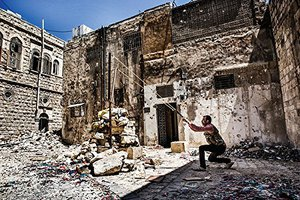 Preview thumbnail for A Whole World Blind: War and Life in Northern Syria