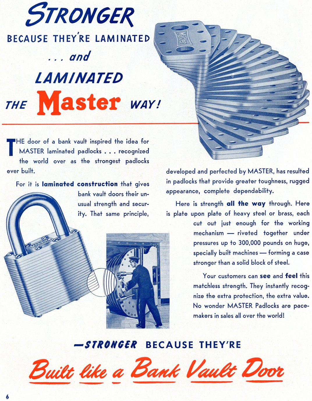 Master Lock Has Had a Hold on the Industry for 100 Years